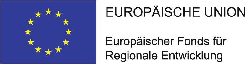 EFRE Logo der EU